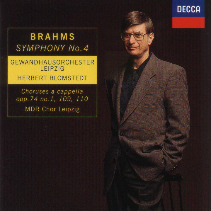 Brahms: Symphony No.4/Choruses a cappella