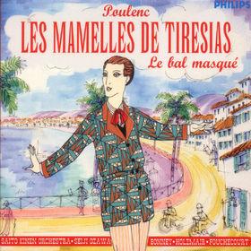 Francis Poulenc, Die Brüste des Tiresias (Les Mamelles de Tiresias); Le Bal Masque, 00028945650425