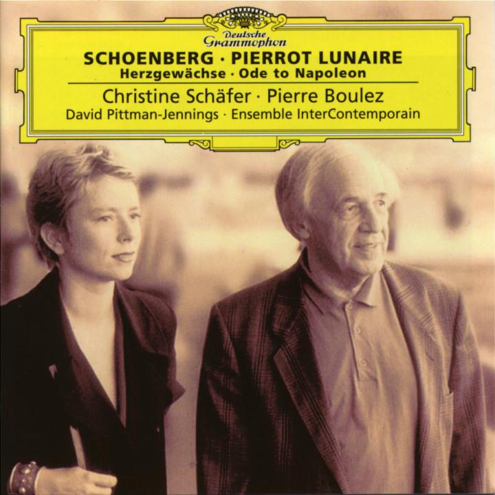 Schoenberg: Pierrot Lunaire; Herzgewächse; Ode to Napoleon 0028945763020