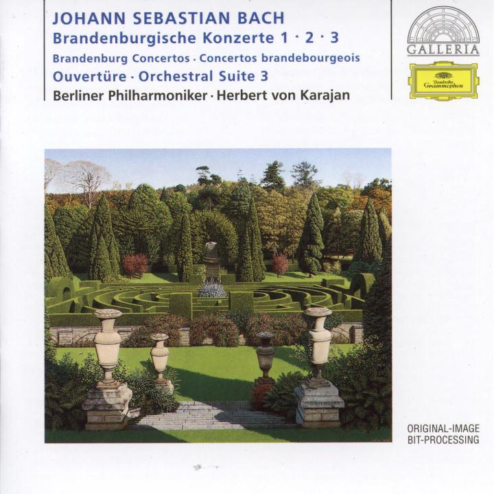 Die Brandenburgischen Konzerte Nr. 1; Nr. 2 und Nr. 3 0028945788928