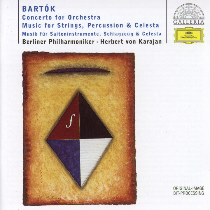 Bartók: Concerto for Orchestra; Music for Strings, Percussion & Celesta 0028945789022