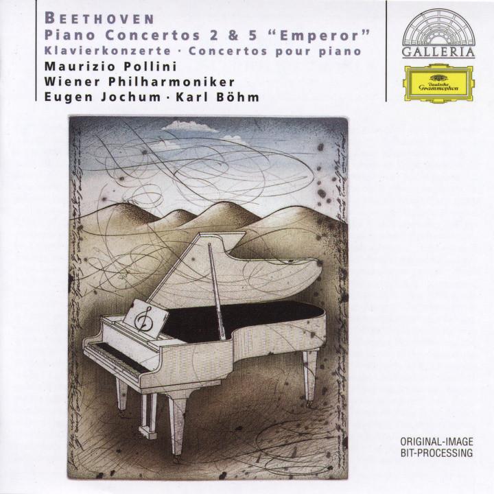 """Beethoven: Piano Concertos Nos.2 & 5 """"Emperor"""" 0028945789125"""