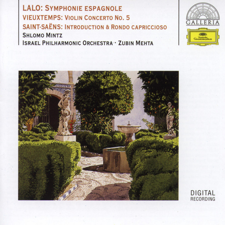 Lalo: Symphony espagnole / Vieuxtemps: Violin Concerto No.5 / Saint-Saëns: Introduction & Rondo cap 0028945789620