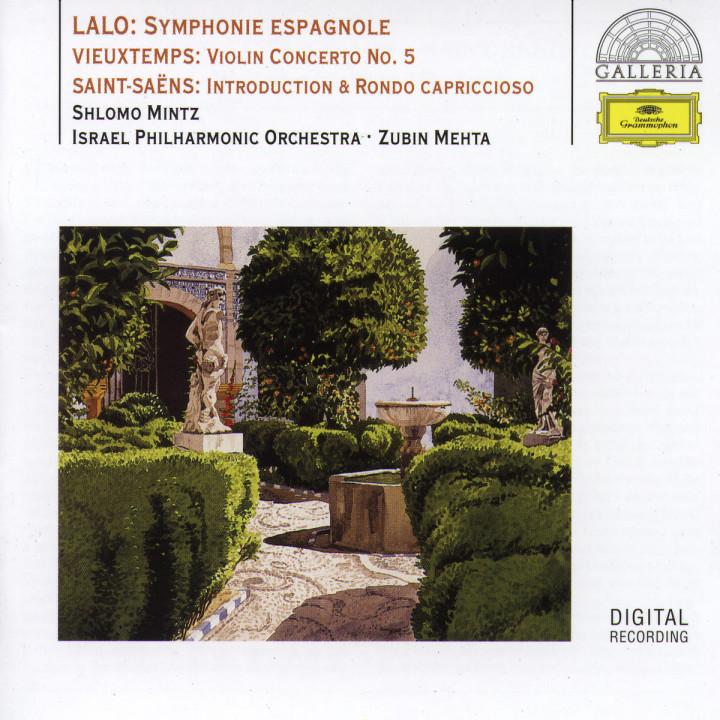 Lalo: Symphony espagnole / Vieuxtemps: Violin Concerto No.5 / Saint-Saëns: Introduction & Rondo cap 0028945789620
