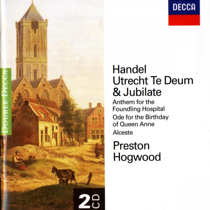 Handel: Utrecht Te Deum/Jubilate etc. 0028945807223