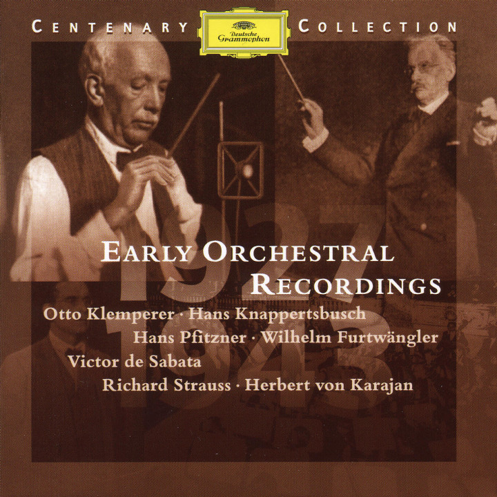 1927-1943; Early Orchestral Recordings 0028945900124