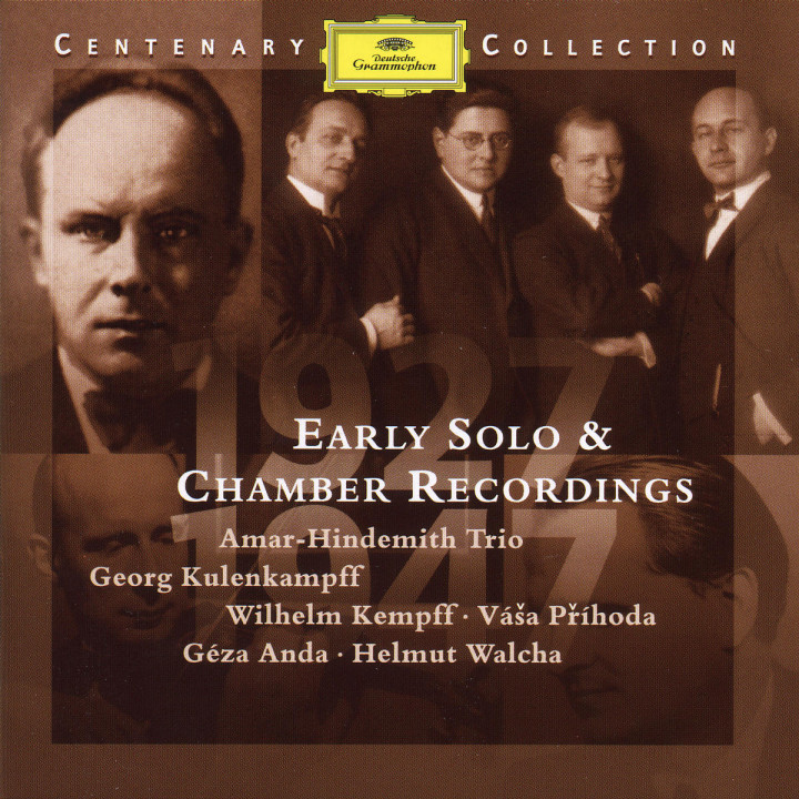 1927-1947; Early Solo & Chamber Recordings 0028945900320