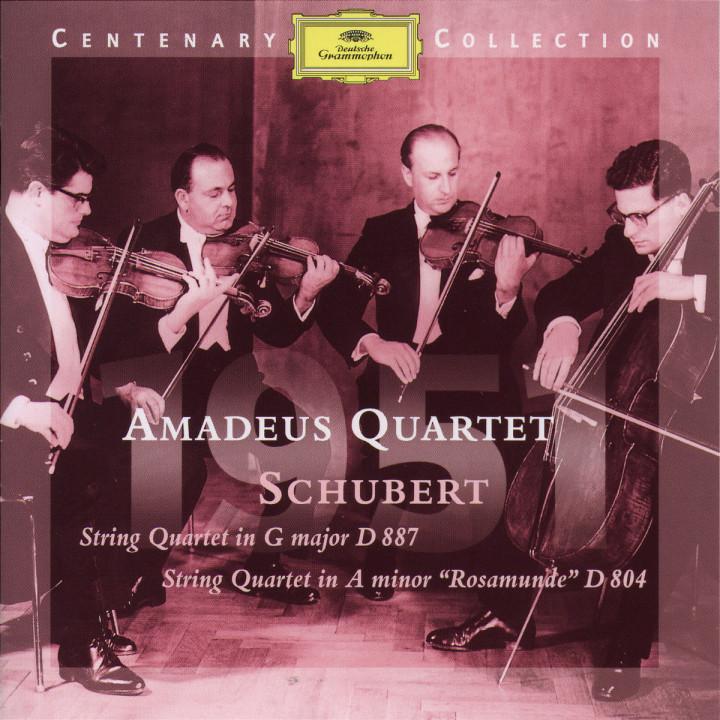 1951; Streichquartett D 887 & D 804 0028945901321