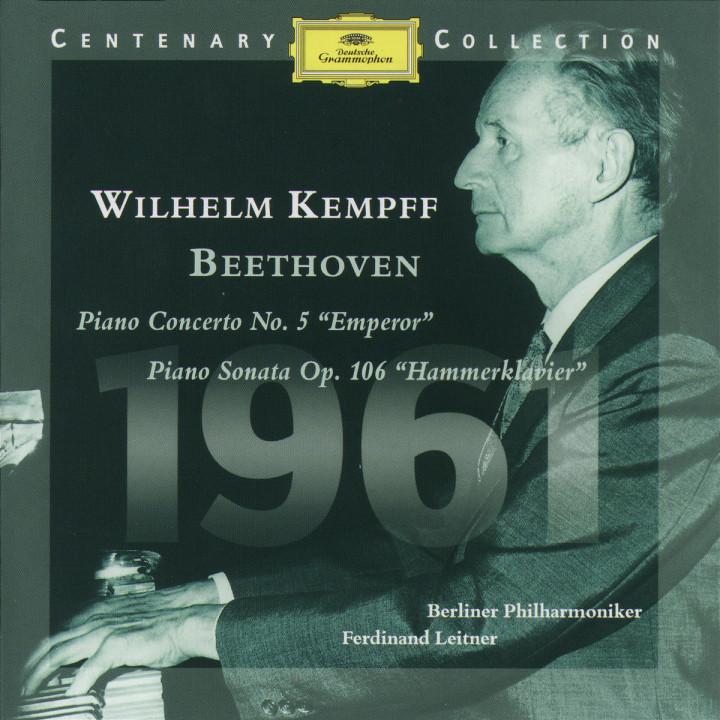1961; Emperor-Concerto Es-dur; Hammerklavier-Sonata B-dur 0028945902322