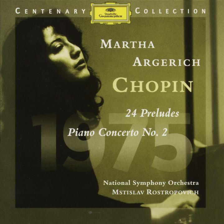 1975; 24 Préludes; Klavierkonzert Nr. 2 f-moll op. 21 0028945903725