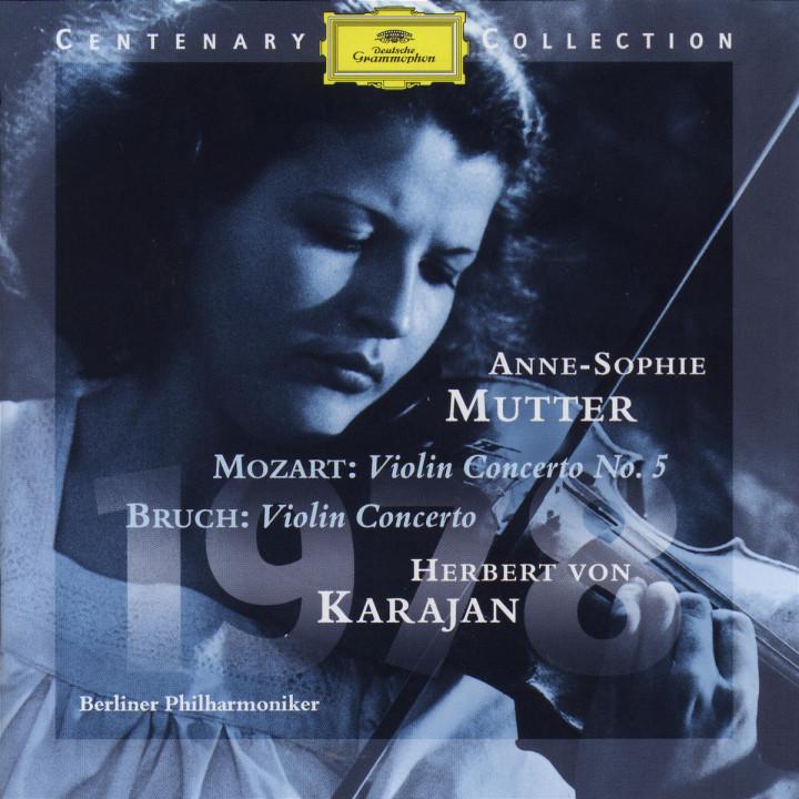 1978; Violinkonzert A-dur KV 219; Violinkonzert g-moll op. 26 0028945904221