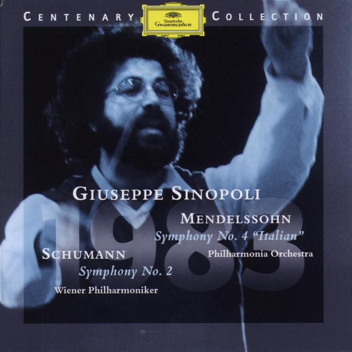 """1983; Sinfonie A-dur """"Italienische"""" & Sinfonie C-dur 0028945904922"""