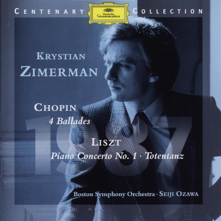 1987; 4 Balladen; Klavierkonzert Nr. 1 0028945905325