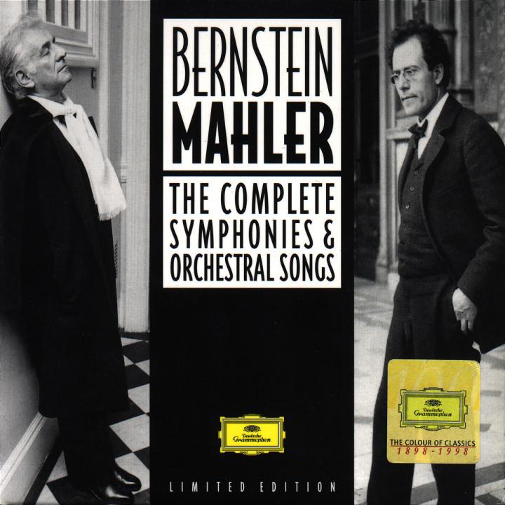 Die gesamten Sinfonien und Orchesterlieder 0028945908029
