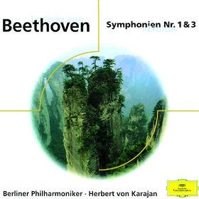 Die Berliner Philharmoniker, L. Van Beethoven - Symphony No.3 Opus 55 Eroica & No.1 Opus 21, 00028945923925