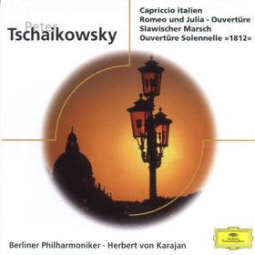 Die Berliner Philharmoniker, Peter Tchaikovsky: Capriccio italien, Eugen Onegin, Romeo and Julia, Marche Slave, 00028945938424