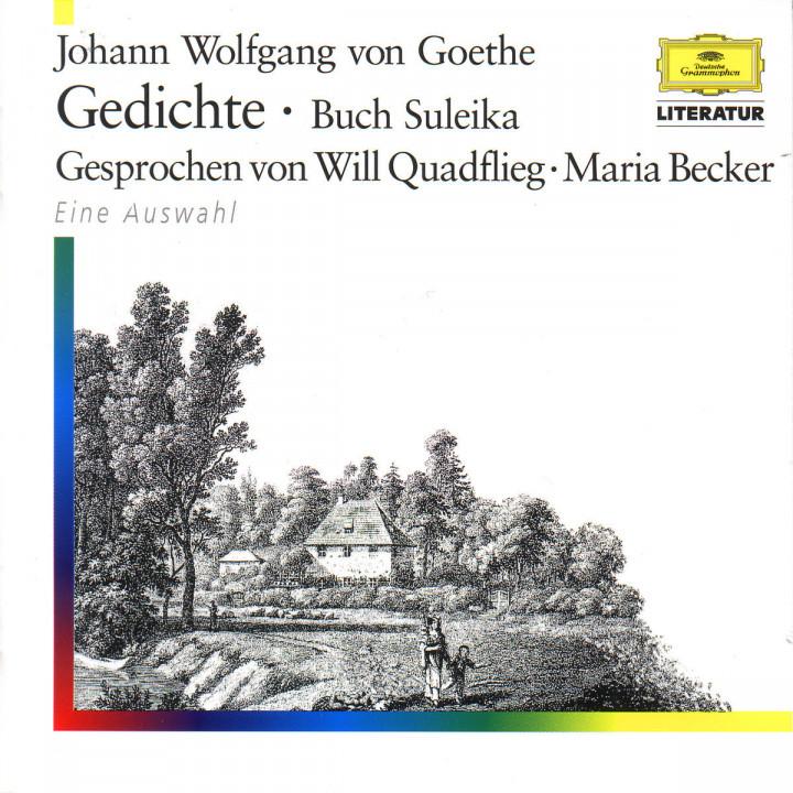 J. W. Goethe - Gedichte 0028945991823