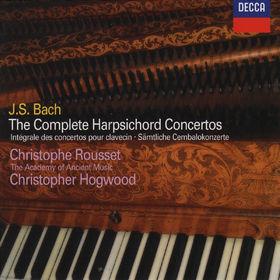 Johann Sebastian Bach, Die gesamten Cembalokonzerte, 00028946003121