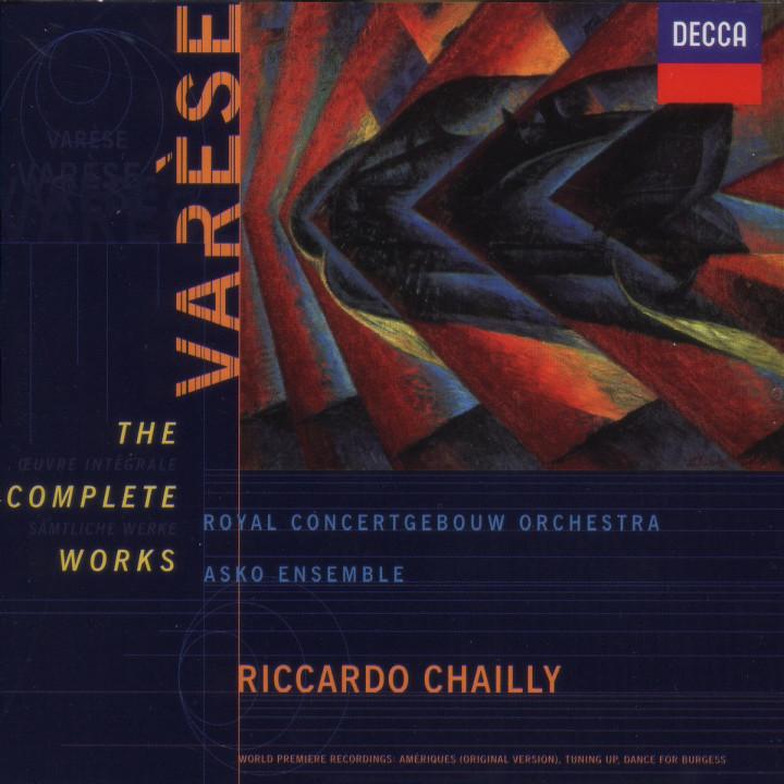 Varèse: The Complete Works 0028946020825