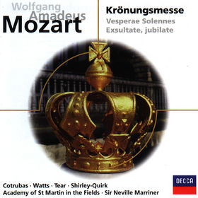 eloquence, Mozart: Mass No.16 K.317 Coronation & Vesperae Solennes K.339, 00028946048429