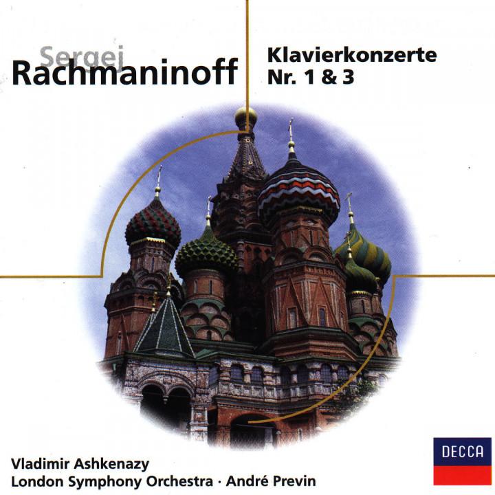 S. Rachmaninov - Piano Concerto No.3 Opus 30 & No.1 Opus 1 0028946048726