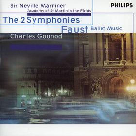 Charles Gounod, Sinfonien Nr. 1 D-dur & Nr. 2 Es-dur, Faust Ballett-Musik, 00028946212523