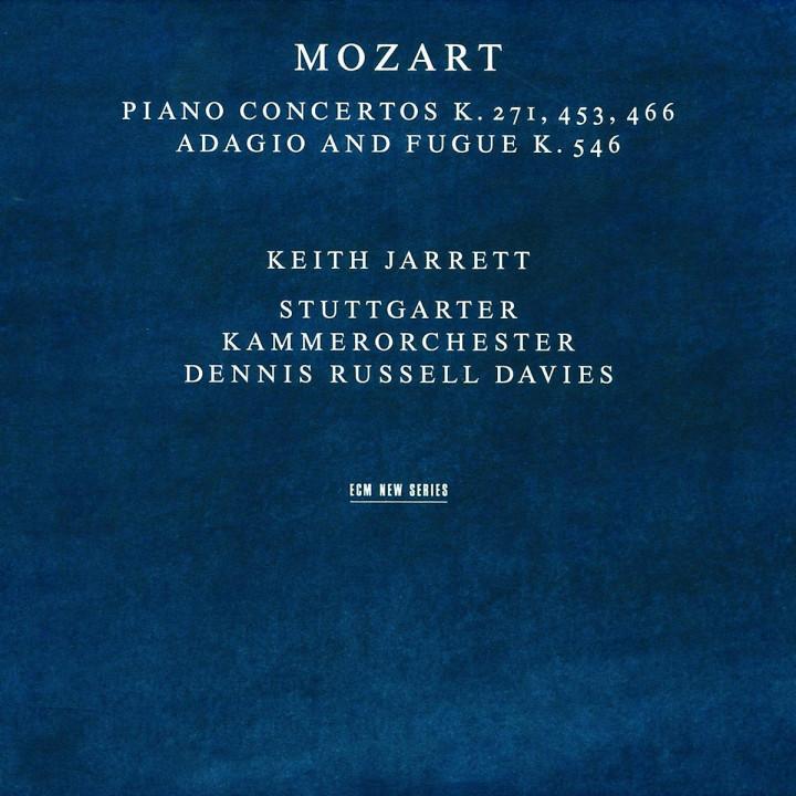 Klavierkonzerte KV 271, 453 466, Adagio und Fuge C-dur KV 546