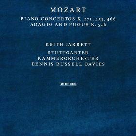 Keith Jarrett, Klavierkonzerte KV 271, 453 466, Adagio und Fuge C-dur KV 546, 00028946265123
