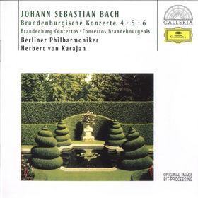 Johann Sebastian Bach, Bach, J.S.: Brandenburg Concertos Nos.4, 5 & 6, 00028945789927