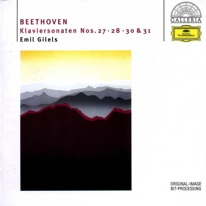 Beethoven: Piano Sonatas Nos.27, 28, 30 & 31 0028945790026