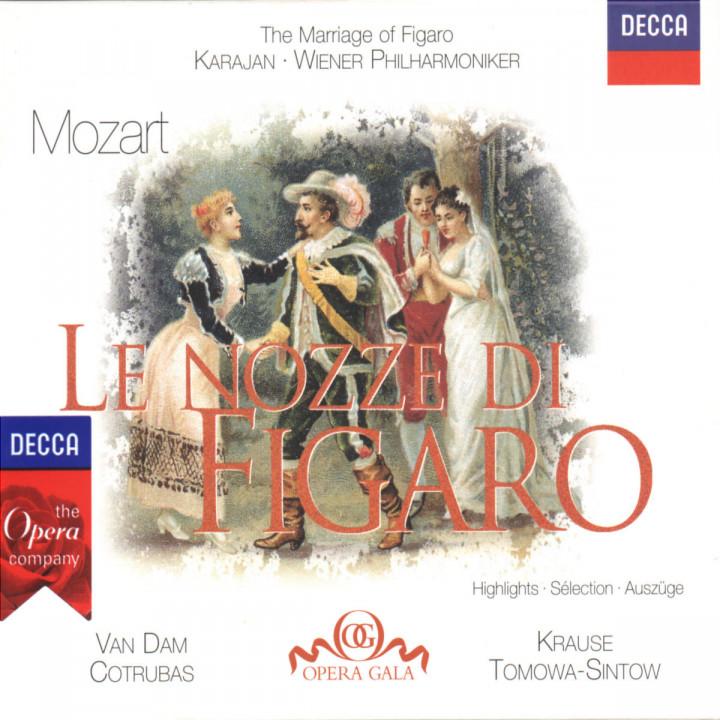 Le Nozze di Figaro (Auszüge) 0028945822523