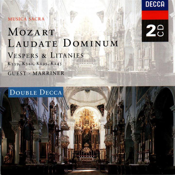 Mozart: Laudate Dominum - Vespers & Litanies 0028945837923