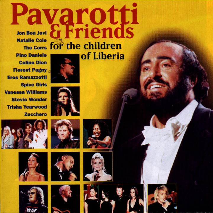 Pavarotti & Friends For The Children Of Liberia 0028946060023