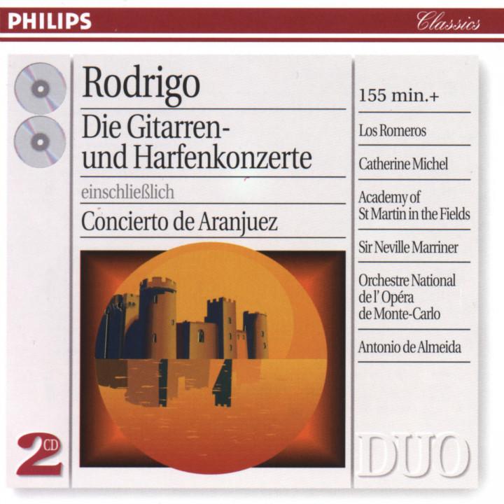 Rodrigo: Complete Concertos for Guitar & Harp 0028946229620