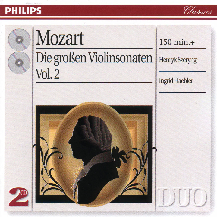 Mozart: The Great Violin Sonatas, Vol.2 0028946230325