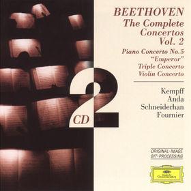 Die Berliner Philharmoniker, Beethoven: The Complete Concertos Vol. 2, 00028945940328
