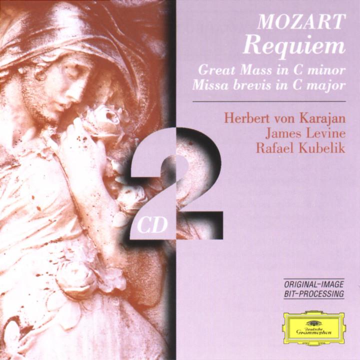Mozart: Requiem; Great Mass in C minor; Missa brevis in C major 0028945940920