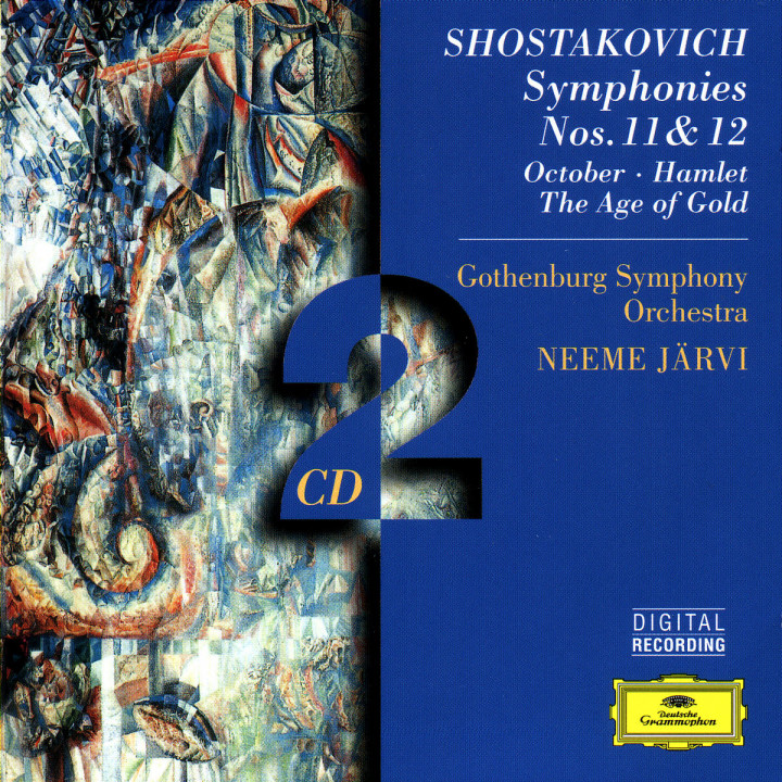 Shostakovich: Symphonies Nos. 11 & 12; October; Hamlet; The Age of Gold 0028945941529