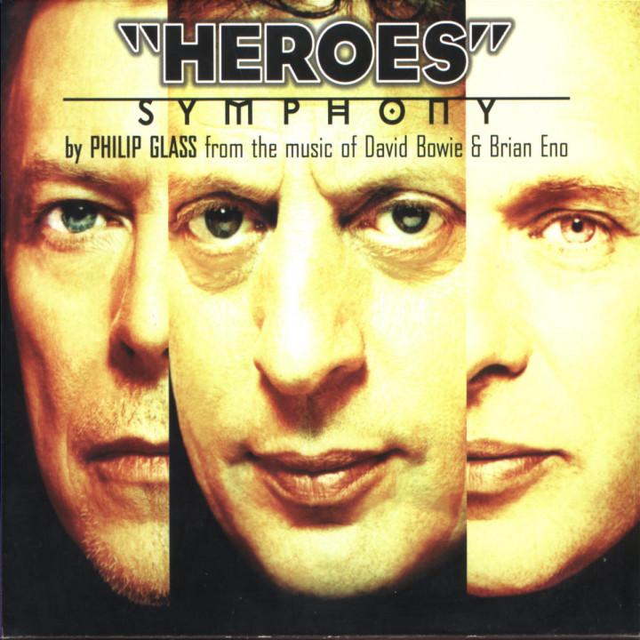 Philip Glass: Heroes Symphony 0028945438827