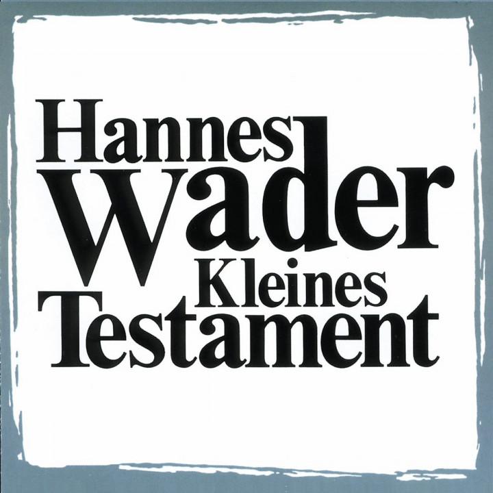 Kleines Testament 0731451441026
