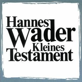 Hannes Wader, Kleines Testament, 00731451441028