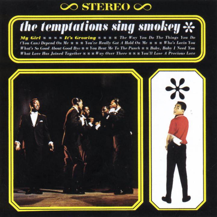 Temptations Sing Smokey 0731453093025