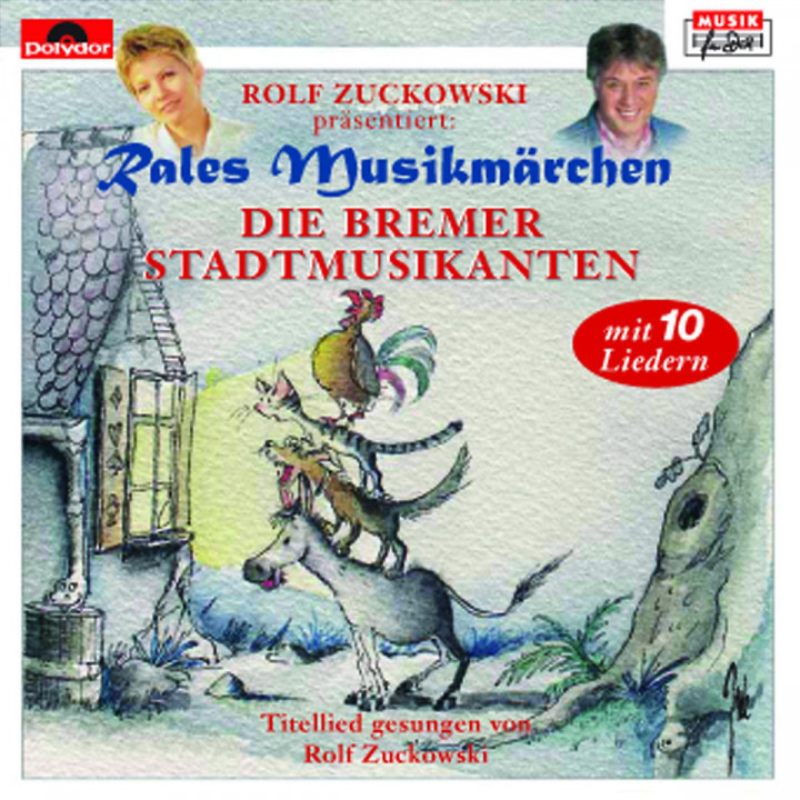 Die Bremer Stadtmusikanten 0731453322727
