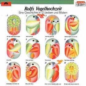 Rolf Zuckowski, Rolfs Vogelhochzeit, 00042284270724