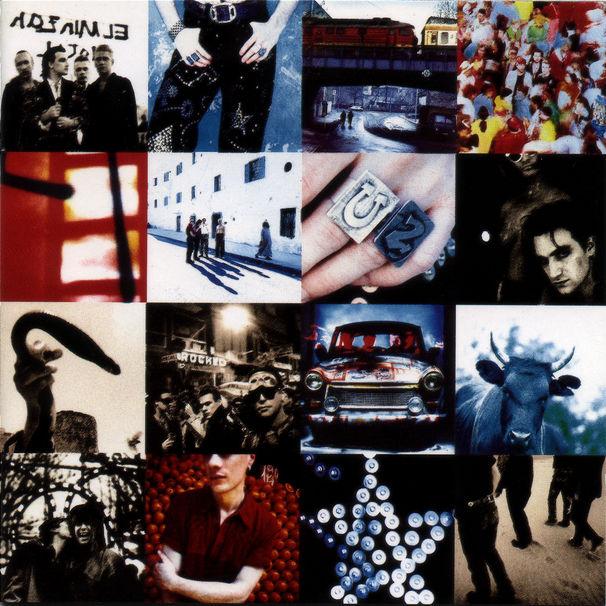 U2, Werde berühmt auf der neuen Achtung Baby-Collage