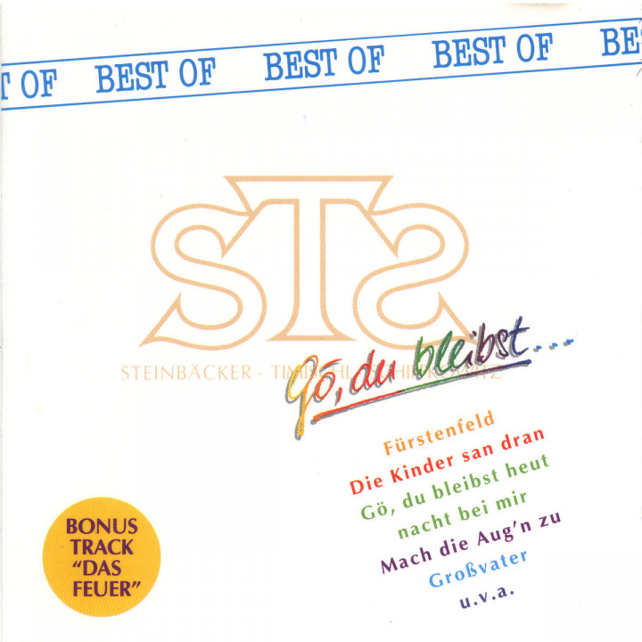 Gö, du bleibst - The Best Of STS 0731451306925