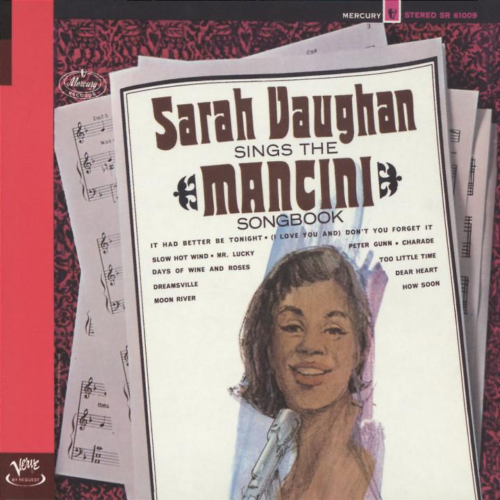 Sarah Vaughan Sings The Mancini Songbook 0731455840124