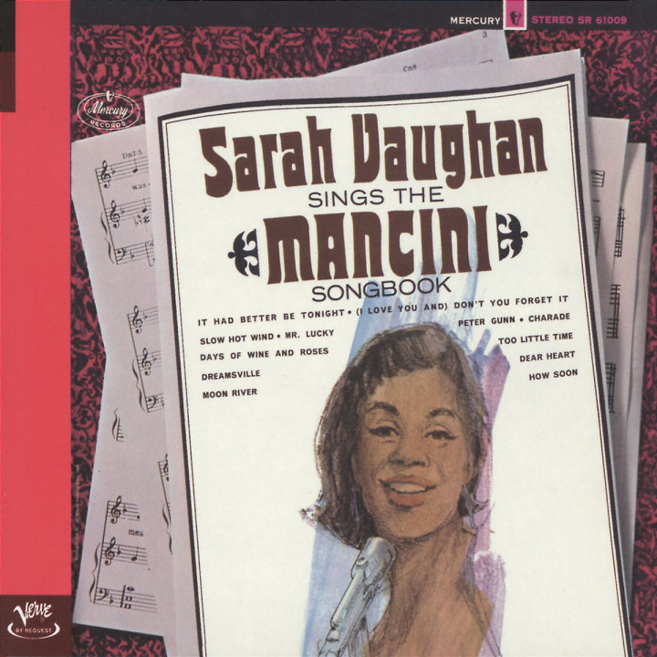 Sarah Vaughan Sings The Mancini Songbook 0731455840124
