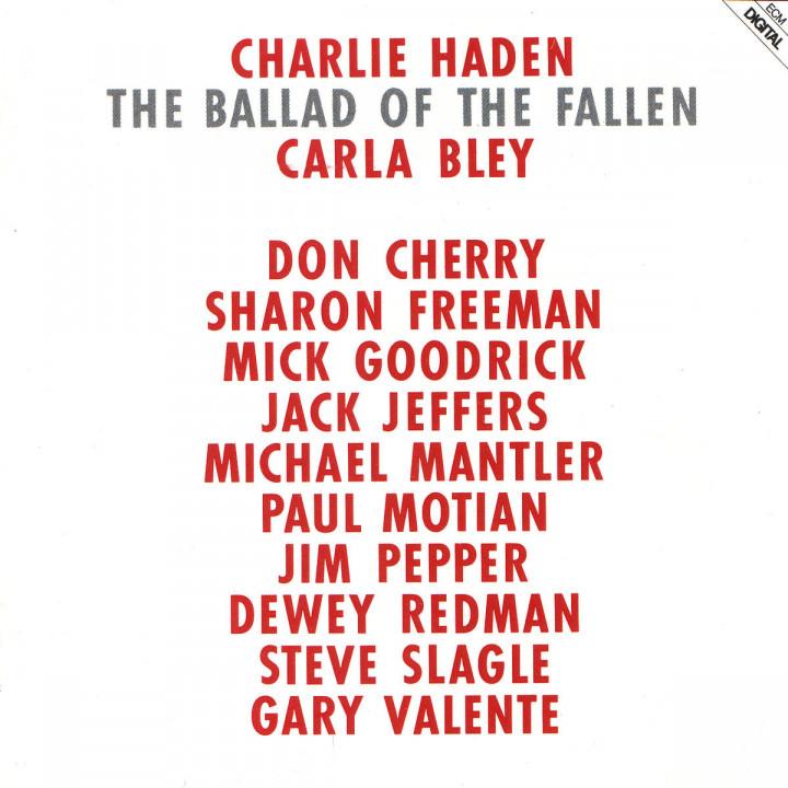 The Ballad Of The Fallen 0042281154621