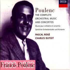 Francis Poulenc, Die gesamte Orchestermusik, 00028946059722